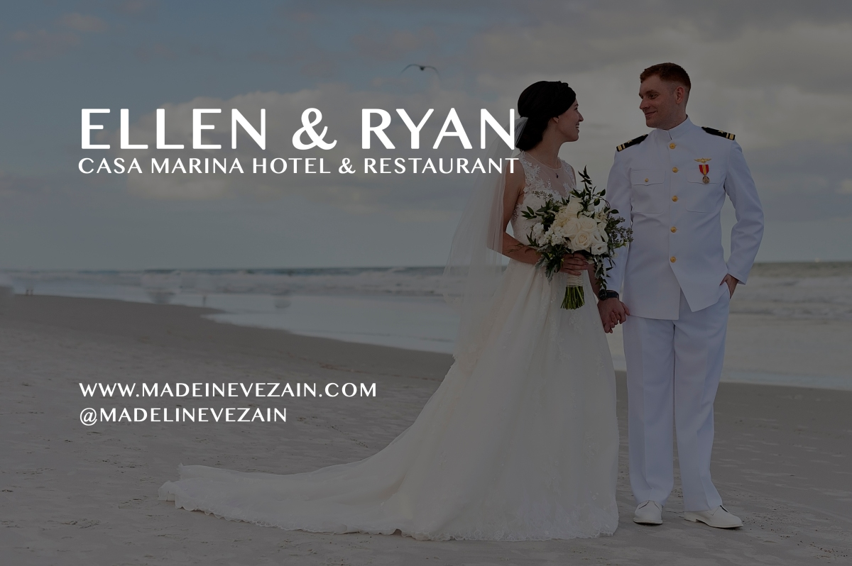 Military Wedding in Jacksonville Beach at Casa Marina Hotel