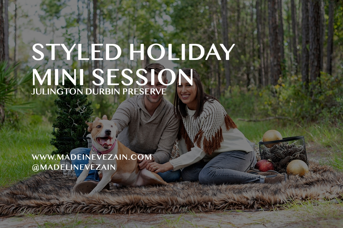 2019 Holiday Mini-Sessions at Julington Durbin Preserve!