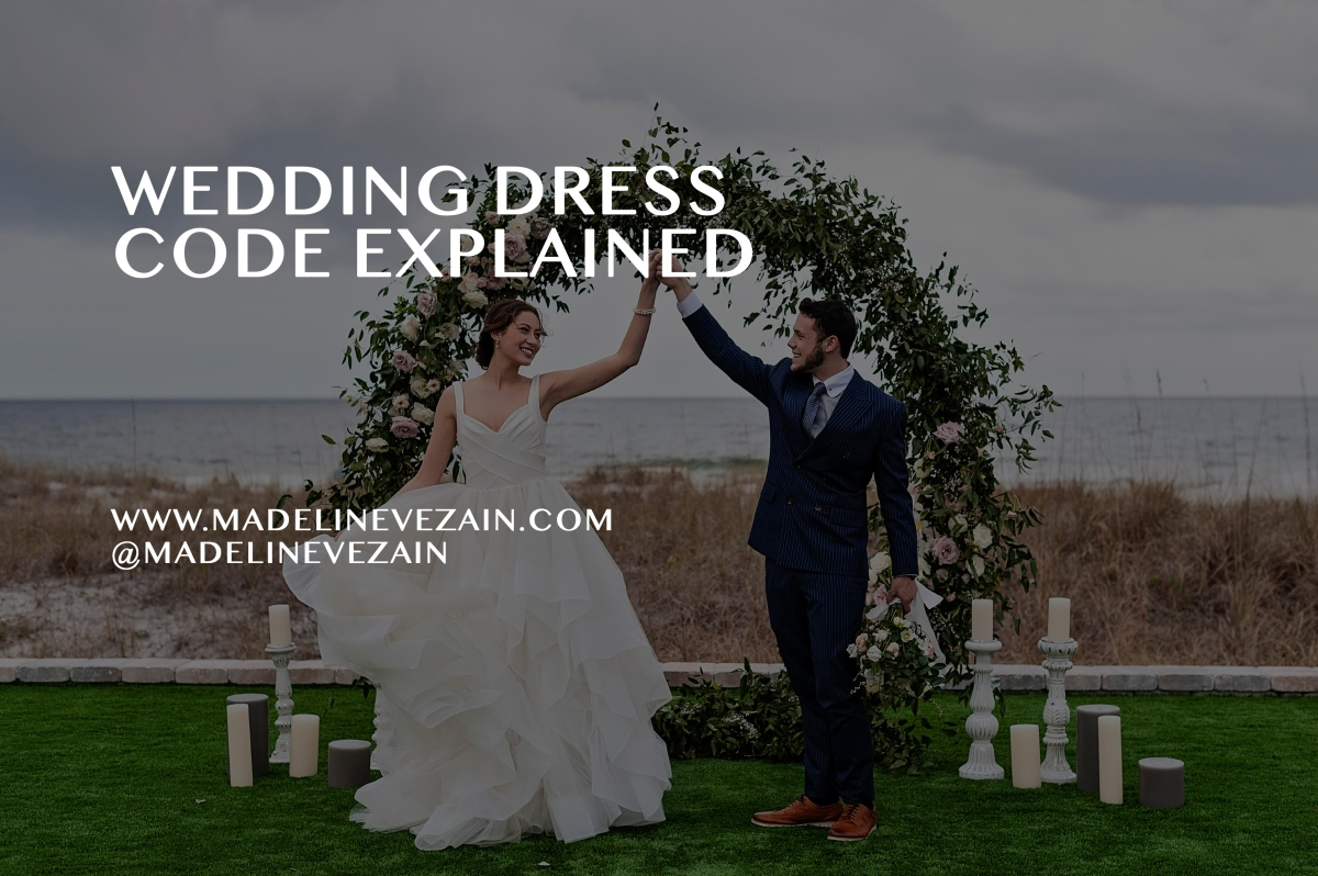 From Black Tie to Casual: Wedding Dress Codes Explained