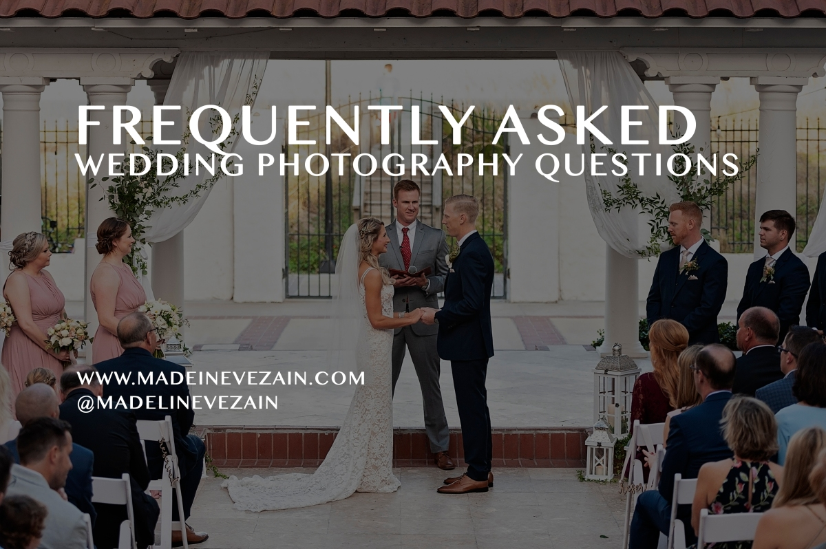 Frequently Asked Questions About Wedding Photography