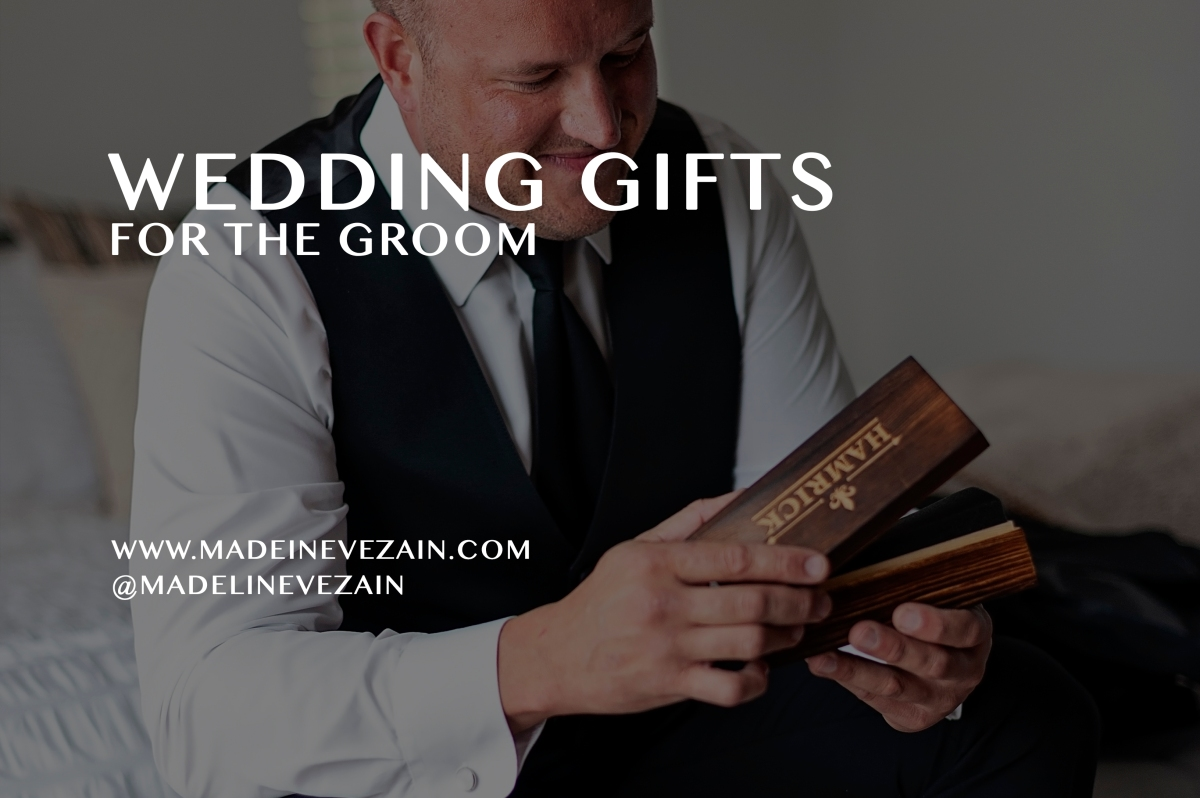 Wedding Morning Gifts for the Groom