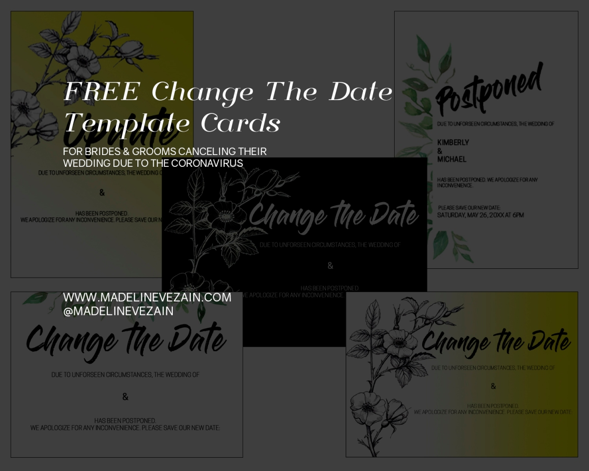 Grab your FREE Change the Date Download Now!