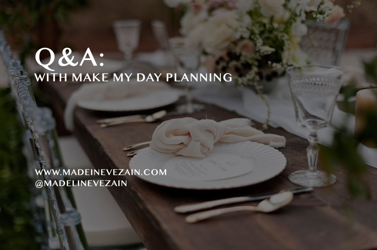 Q&A with Make My DayPlanning