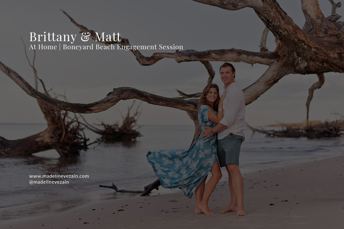 At Home | Boneyard Beach, Talbot Island | Engagement | Northeast Florida WeddingPhotographer